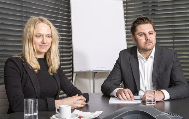 Angelika Pallwein-Prettner und Manuel Müller