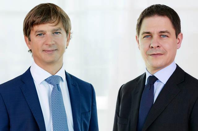 Thomas Lettau und Christoph Nauer, beide bpv Huegel
