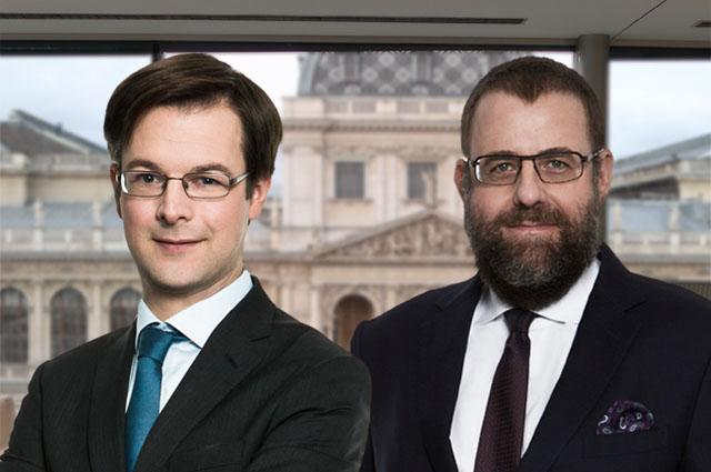 Heinrich Kühnert und Bernhard Müller, beide Partner bei Dorda