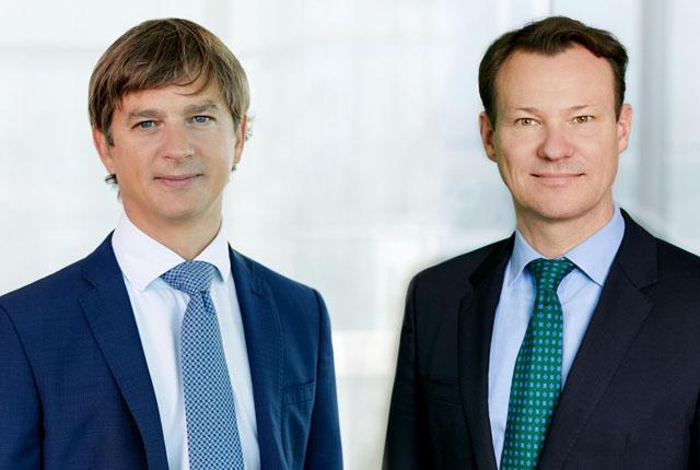 Thomas Lettau und Gerald Schachner, beide bpv Huegel