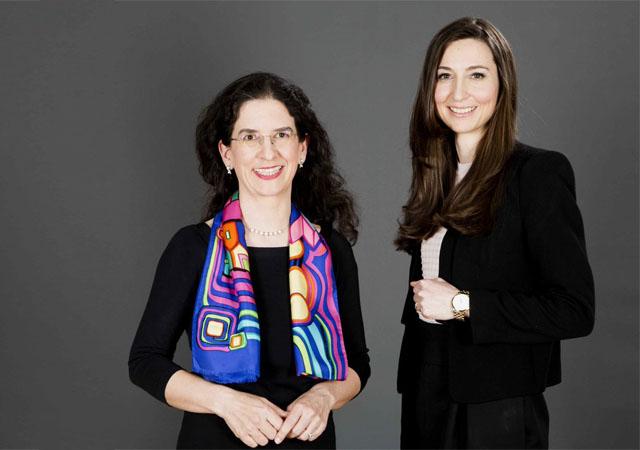 Dr. Maria Doralt und Mag. Valerie Kramer