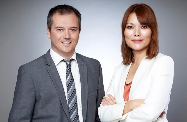 Bernhard Passin und Alice Meissner