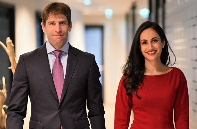 Johannes Kautz und Carmen Thornton