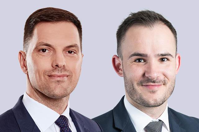 Vedran Obradovic und Andrei Demian