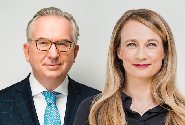 Thomas Angermair und Lisa Kulmer