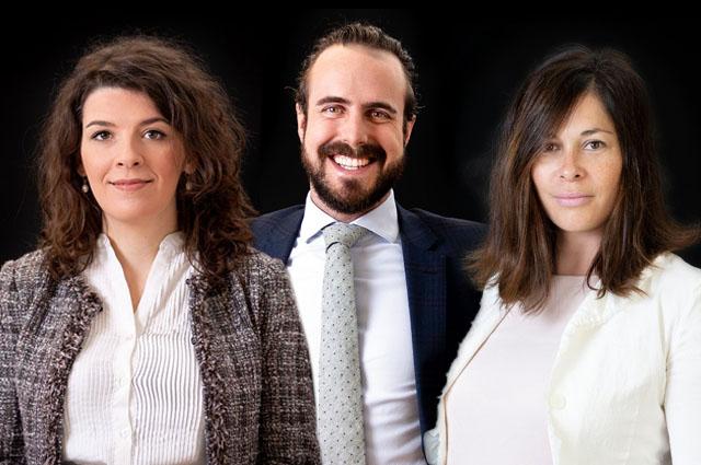 Hanita Veljan, Philip Rosenauer und Daniela Olbrich