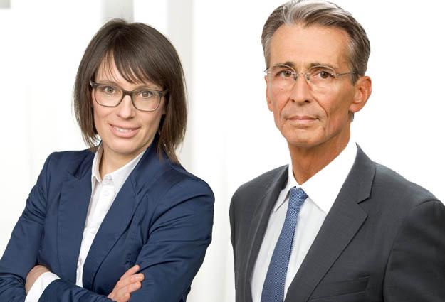 Gerda Leimer von Grant Thornton und Raimund Cancola, Managing Partner bei Taylor Wessing CEE