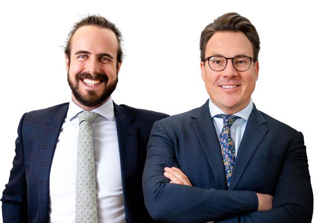Philip Rosenauer (Counsel) und Rainer Kaspar (Partner) freuen sich über den gelungenen Deal für Vertiseit
