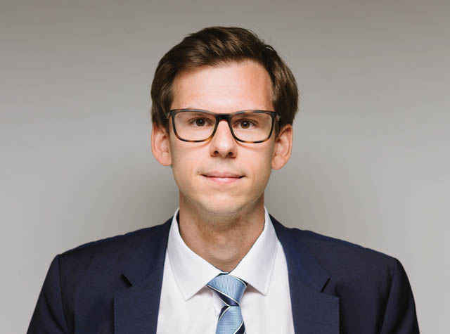 Florian Nikolai, seit 2016 bei DORDA, seit 2021 als Anwalt