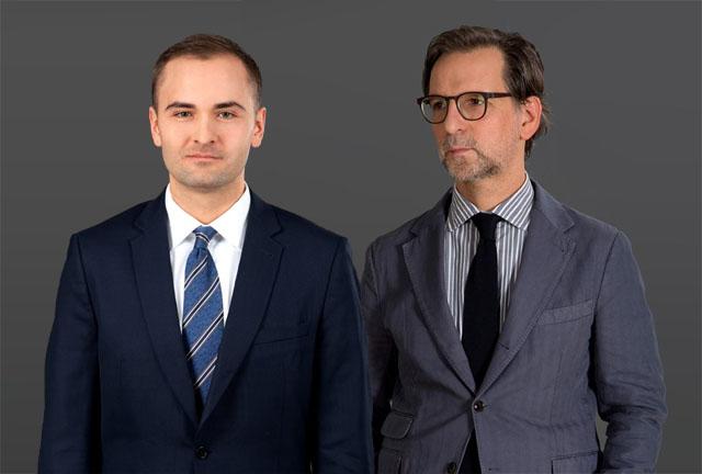Mikhail Bychikhin und Andreas Daxberger