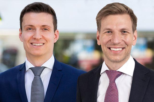 Raphael Hoefer und Dominique Schichtle