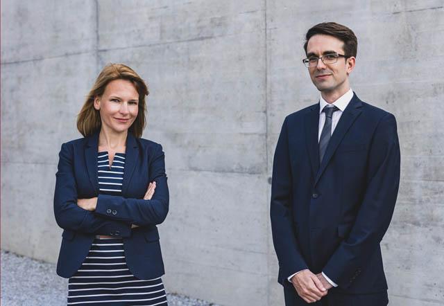 Tanja Lang und Alexander Weber