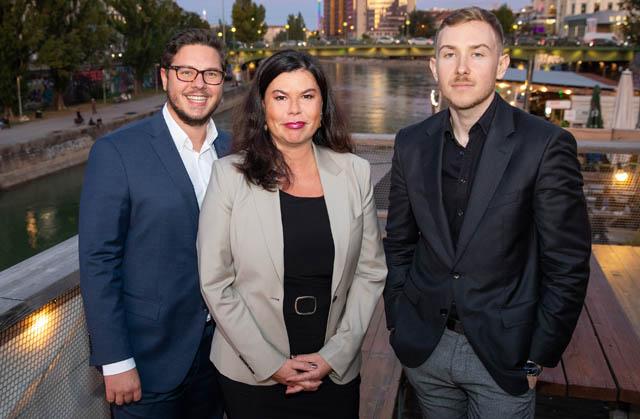 Armin-Redl, Claudine Vartian und Tristan-Horx