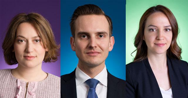 Marika Lomashvili, Wolfgang Lauchner und Andjelka Todorovic