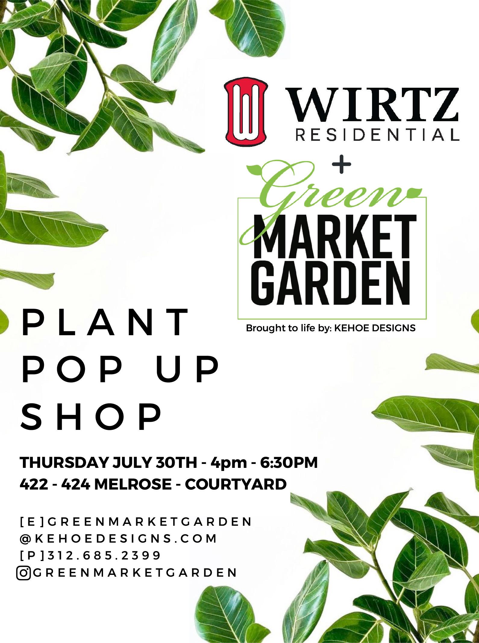 Plant Pop Up Shop