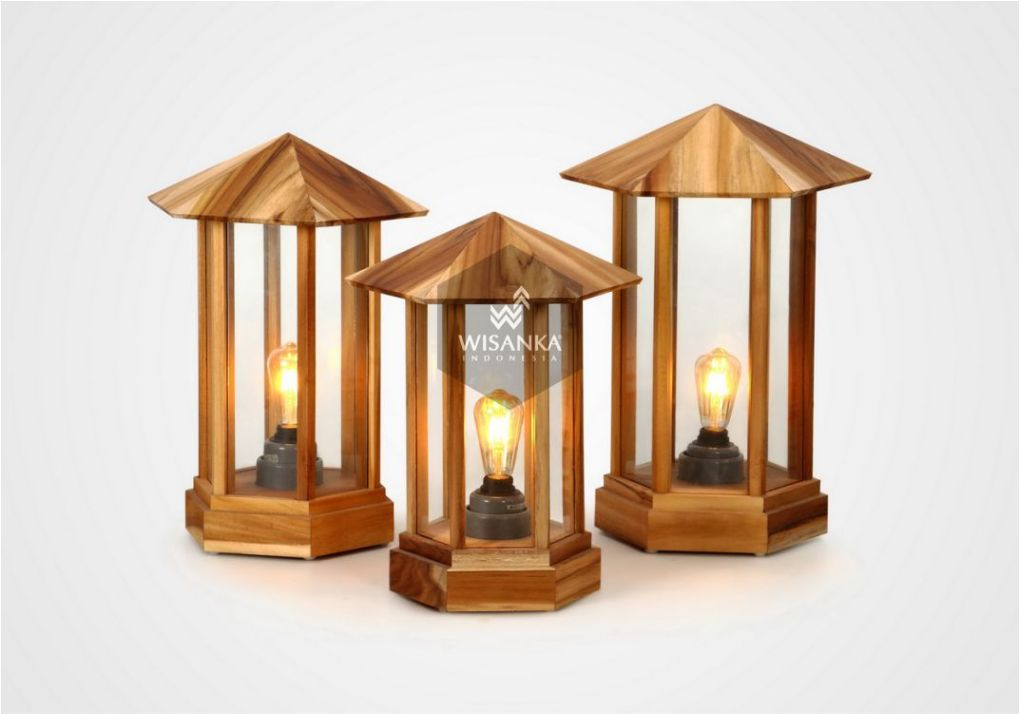 Laterne A Outdoor Lamp Set On