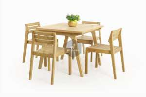 5 easy ways to maintenance teak chairs well. Tips for your furniture made of wood can last, Denver Wooden Dining Set Furniture Proudly present our new collection in outdoor