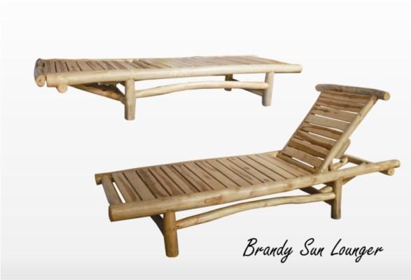 Brandy Sun Lounger Furniture Set Wisanka