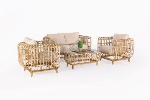 Siena Rattan Living Set