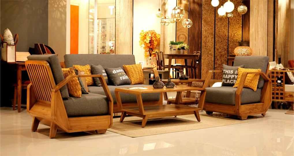Wisanka Indoonesia Wooden Indoor Living Set Furniture