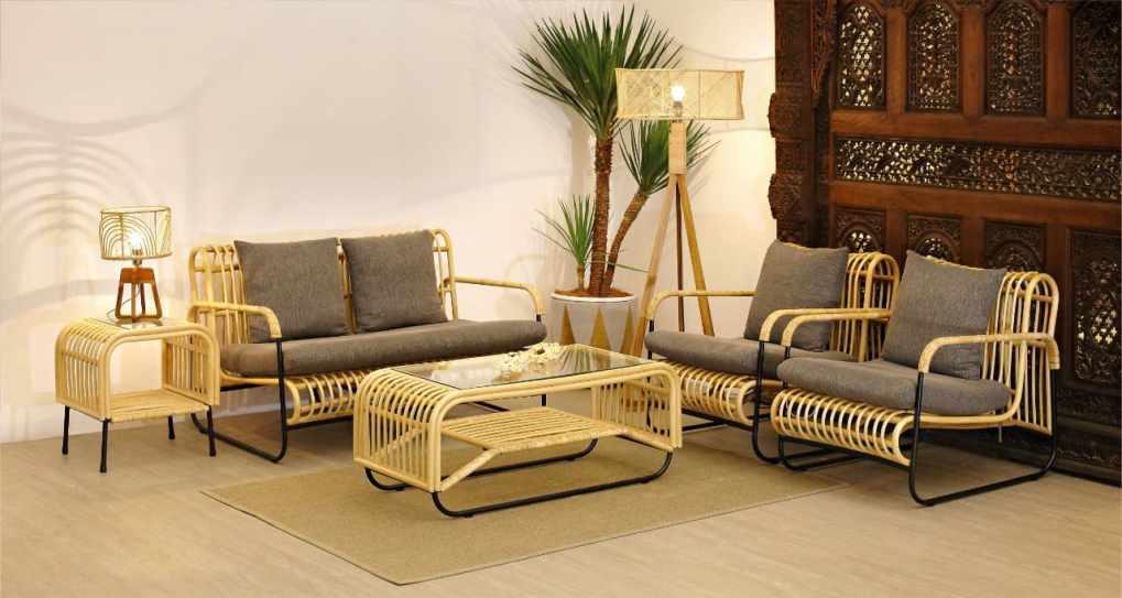 Wisanka Indonesia Rattan Living Set Furniture