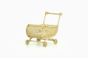 Lisa Doll Pram Natural