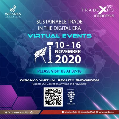 Wisanka On TEI 2020 Virtual Event (Trade Expo Indonesia 2020))