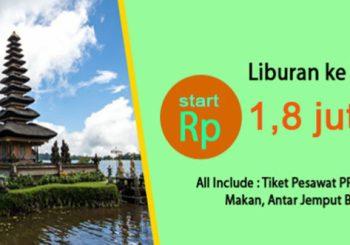 Promo Paket Wisata Bali 3 Hari 2 Malam Plus Tiket Pesawat