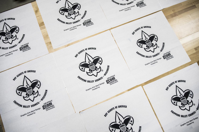 Print Ready Uw Stout Students Staff Help Boy Scouts Earn