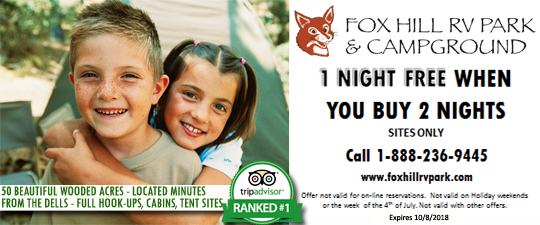Fox Hill coupon 2018
