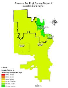 Wisconsin State map-secondary boundaries-5