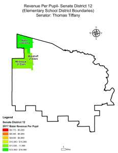 Wisconsin State map-secondary boundaries-14