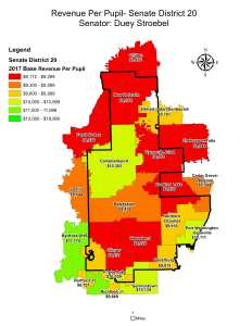 Wisconsin State map-secondary boundaries-23
