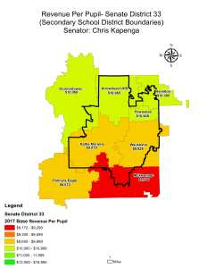 Wisconsin State map-secondary boundaries-38