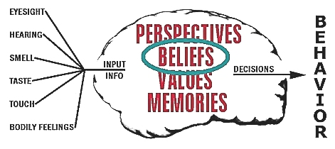 Image result for beliefs key to human behavior