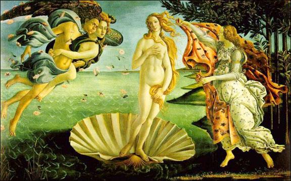 Boticelli's Venus.