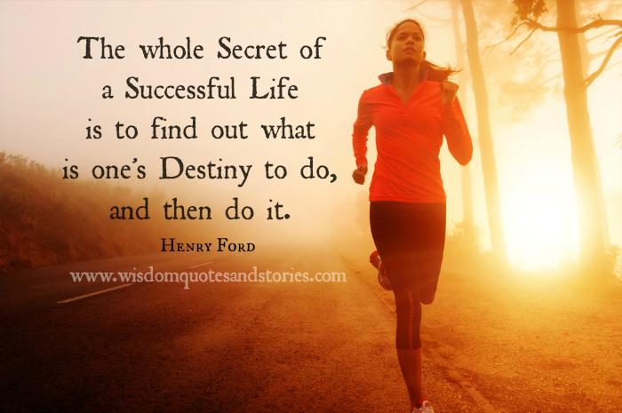 #A Successful Life
