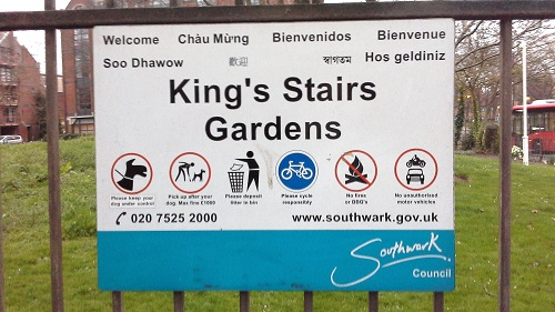 Rotherhithe Parks King's Stairs Gardens 01Rotherhithe Parks King's Stairs Gardens 01