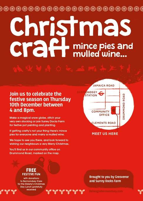 Grosvenor Christmas Craft