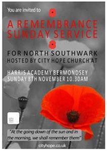 City Hope Church Remembrance SErvice