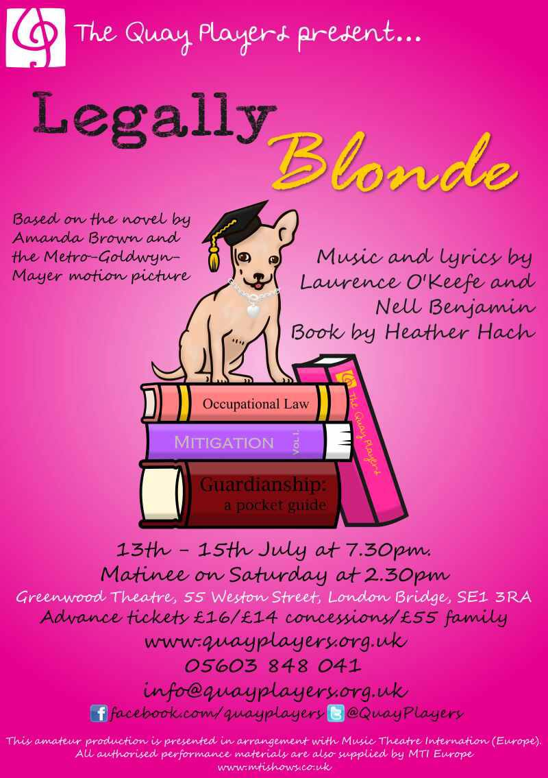 Quay Players Legally Blonde