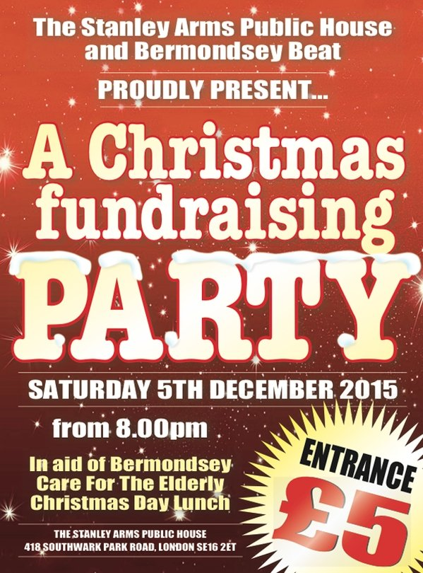Stanley Arms Christmas Fundraising