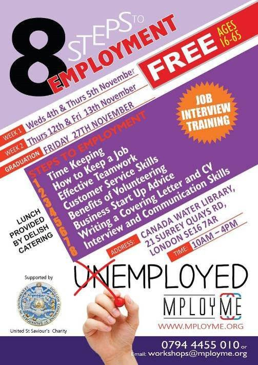Wise16 8 Steps to employment