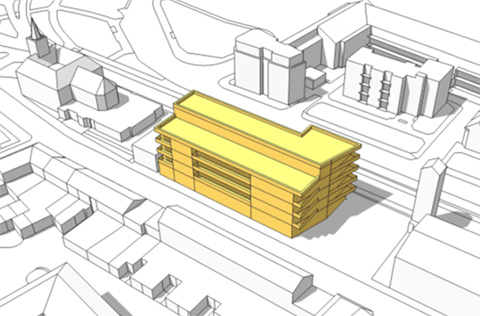 Albion Street Civic Centre proposal