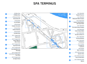 Spa Terminus Map September 2016