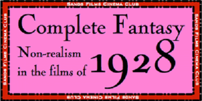 Sands Films Studios Cinema Club Films of 1928