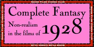 Sands Films Studios Cinema Club Films of 1928