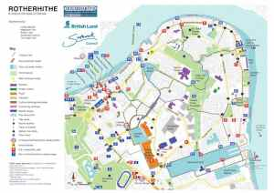 What's On Rotherhithe Map