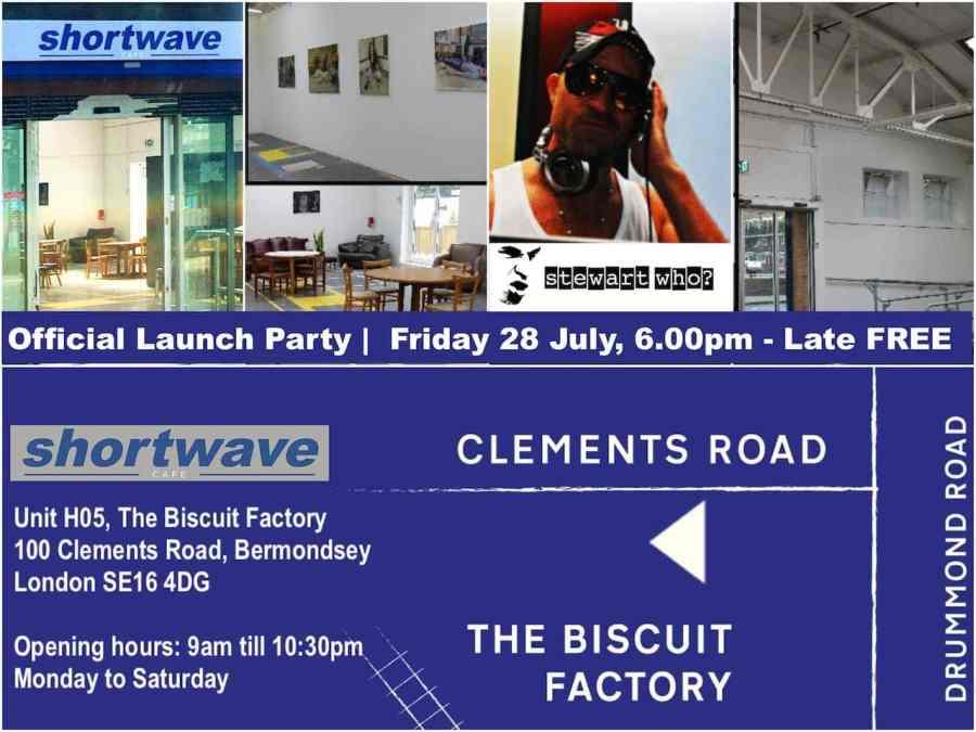 Shortwave Official Launch party collage