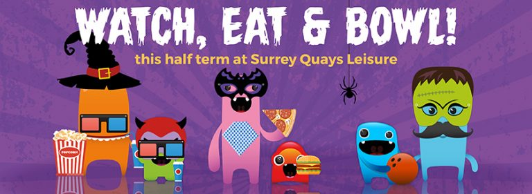 Halloween Half Term in the Surrey Quays Leisure Park
